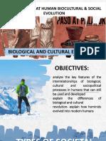 Looking Back at Human Biocultural & Social EvolutioN
