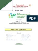HN ATC Notes Module 1 Part1