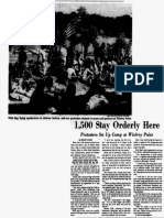 Vietnam Moratorium Coverage Dallas Morning News Oct. 16, 1969