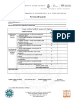 Evaluacion residencias