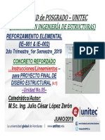 Ppt Lineamientos Proyectofinal Concreto Ie001 Ie002 2019q2 v1