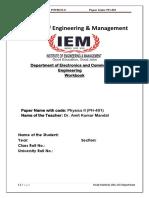 Workbook ECE Physics AKM