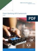 Open Banking API Framework