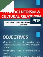 4.Ethnocentrism & Cultural Relativism