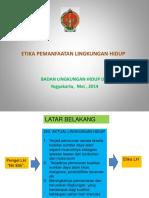 Etika Lingkungan_Pelatihan LH