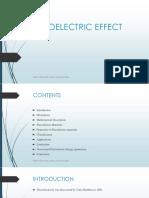 Peizoelectric Effect