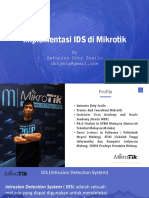 Implementasi IDS