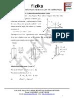 cylindrical Polar Coordinate System