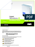 Compact Wireless-G Broadband Router WRT54GC