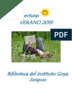 Lecturas Verano 2019