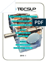 Informe de Diseño de Caja Reductora
