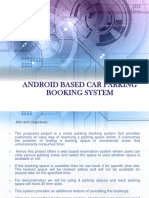 Android Based Car Parking Booking System