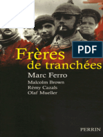 Freres de tranchees - 1ere Guerre Mondiale.epub