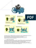 2. First the Power or Drive is Supplied by the Motor
