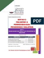 Kfp4013 (Unit 7) Dasar Pendidikan