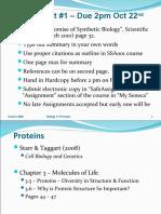 BIO173 - 11 - Proteins 1 - 20103
