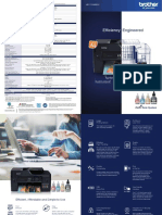 MFC T4500DW Brochure