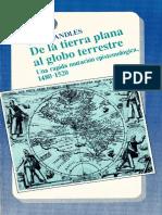 Randles W G L - De La Tierra Plana Al Globo Terrestre Una Raida Mutacion Epistemologica 1480 - 1520.pdf