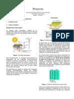 Energía solar informe