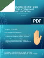 Hand Gesturevrecognization Seminar