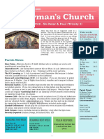 st germans newsletter - 30 june 2019 - sts peter   paul