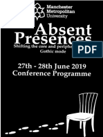 Absent Presences Programme Final