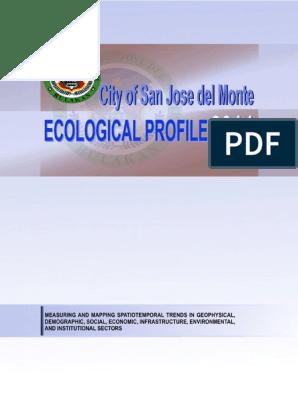 Ecological Profile 2014 Pdf Nature
