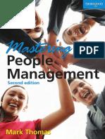 Mark Thomas. Mastering People Management