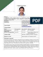 Pranab Naik _CV
