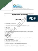 1managerial Economics