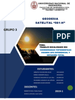 Coordenadas Topograficas Usando GPS Diferencial y Estación Total