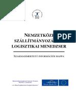 Nemzetkozi Szallitmanyozasi Es Logisztikai Menedzser Szakmaismerteto Informacios Mappa