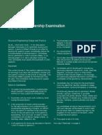 Exam Preparation Associate Member Past Paper 20150710