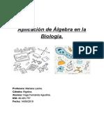 Matematicas Aplicadas a La Biologia