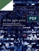 Deloitte Tax At the Right Price (042808)