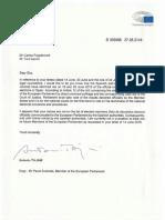 Carta Tajani