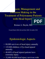 G02-Assessment, Management and Decision Making in the Treatment of Polytrauma Patients With Head Injuries
