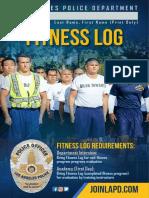 LAPD Fitness Brochure