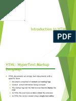 Lesson1-Intro to HTML