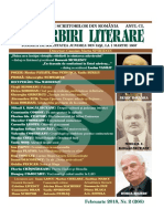 Convorbiri Literare 02 2018 Issue Ebsco