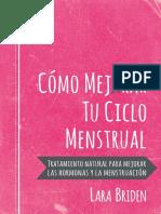 Cómo mejorar tu ciclo mestrual - Lara Briden