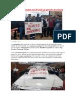 Conflictos Sociales que se han dado en la mina LA ARENA -HUAMACHUCO