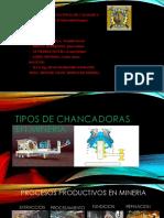 Tipos de Chancadoras en Mineria
