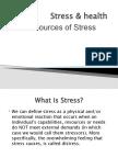 Stress & Health