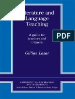 LAZAR G. -Literature and Language Teaching.pdf