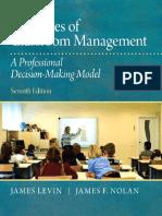 James Levin Pennsylvania State University James F. Nolan Pennsylvania State University - Principles of Classroom Management.pdf