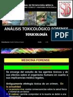 ANALISIS TOXICOLÓGICO FORENSE