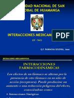 4º Interaccciones Farmacodinamicas 1