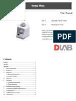 User Manual_Vortex Mixer.pdf
