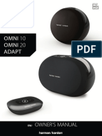Harman Kardon-1470295200-Owner's Manual - OMNI Series English